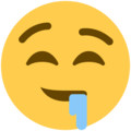 Drooling Face on Twitter Twemoji 12.1.4
