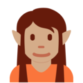 Elf: Medium Skin Tone on Twitter Twemoji 12.1.4