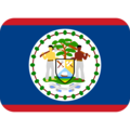 Flag: Belize on Twitter Twemoji 12.1.4