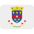 Flag: St. Barthélemy on Twitter Twemoji 12.1.4