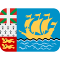 Flag: St. Pierre & Miquelon on Twitter Twemoji 12.1.4