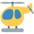 Helicopter on Twitter Twemoji 12.1.4