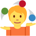 Person Juggling on Twitter Twemoji 12.1.4