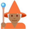 Mage: Medium-Dark Skin Tone on Twitter Twemoji 12.1.4