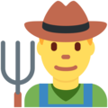 Man Farmer on Twitter Twemoji 12.1.4