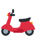 Motor Scooter on Twitter Twemoji 12.1.4