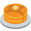Pancakes on Twitter Twemoji 12.1.4