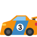Racing Car on Twitter Twemoji 12.1.4