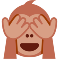 See-No-Evil Monkey on Twitter Twemoji 12.1.4