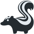 Skunk on Twitter Twemoji 12.1.4