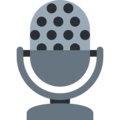 Studio Microphone on Twitter Twemoji 12.1.4