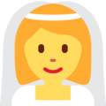 Person With Veil on Twitter Twemoji 12.1.5