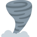 Tornado on Twitter Twemoji 12.1.5