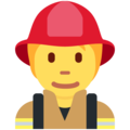 Firefighter on Twitter Twemoji 12.1.5