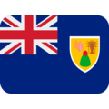 Flag: Turks & Caicos Islands on Twitter Twemoji 12.1.5