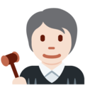 Judge: Light Skin Tone on Twitter Twemoji 12.1.5