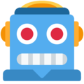 Robot on Twitter Twemoji 12.1.5