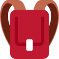 Backpack on Twitter Twemoji 12.1.5