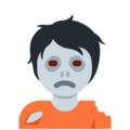 Zombie on Twitter Twemoji 12.1.5