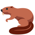 Beaver on Twitter Twemoji 13.0