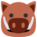 Boar on Twitter Twemoji 13.0