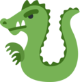 Dragon on Twitter Twemoji 13.0
