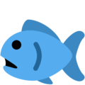 Fish on Twitter Twemoji 13.0