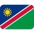Flag: Namibia on Twitter Twemoji 13.0