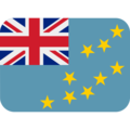 Flag: Tuvalu on Twitter Twemoji 13.0