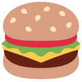 Hamburger on Twitter Twemoji 13.0