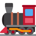 Locomotive on Twitter Twemoji 13.0