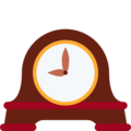 Mantelpiece Clock on Twitter Twemoji 13.0