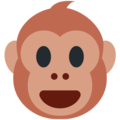 Monkey Face on Twitter Twemoji 13.0