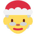 Mrs. Claus on Twitter Twemoji 13.0