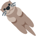 Otter on Twitter Twemoji 13.0