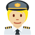 Pilot: Medium-Light Skin Tone on Twitter Twemoji 13.0