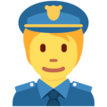 Police Officer on Twitter Twemoji 13.0