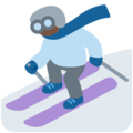 Skier, Type-6 on Twitter Twemoji 13.0