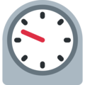 Timer Clock on Twitter Twemoji 13.0