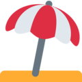 Umbrella on Ground on Twitter Twemoji 13.0