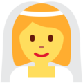 Woman with Veil on Twitter Twemoji 13.0