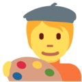 Artist on Twitter Twemoji 13.0.1