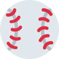 Baseball on Twitter Twemoji 13.0.1