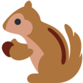 Chipmunk on Twitter Twemoji 13.0.1