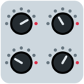 Control Knobs on Twitter Twemoji 13.0.1