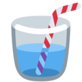 Cup with Straw on Twitter Twemoji 13.0.1