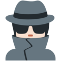 Detective: Light Skin Tone on Twitter Twemoji 13.0.1