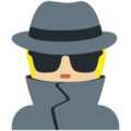 Detective: Medium-Light Skin Tone on Twitter Twemoji 13.0.1