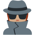 Detective: Medium Skin Tone on Twitter Twemoji 13.0.1