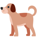 Dog on Twitter Twemoji 13.0.1
